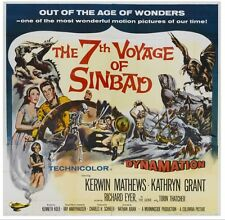 7TH VOYAGE OF SINBAD (1958 DVD FANTASY CYCLOPS DRAGON RAY HARRYHAUSEN)