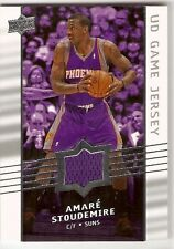 AMARE STOUDEMIRE JERSEY 2008-09 UPPER DECK UD GAME JERSEY GA-AS PHOENIX SUNS