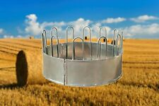 Large Round Bale Hay Feeder, Cattle, Horse, Heavy Duty, 3 Piece.