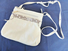 67% OFF RRP Beige Designer Multi Compartment Utility Cross-Body Thirty-One Bag