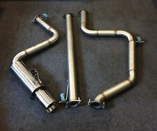 Direct Fit Ford Mondeo ST TDCi Stainless Flexipipe-Back  Exhaust System