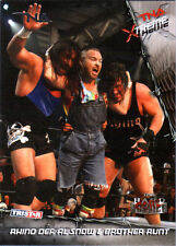 TNA Rhino Al Snow Brother Runt #27 2010 Xtreme SILVER Parallel Card SN 28 of 40