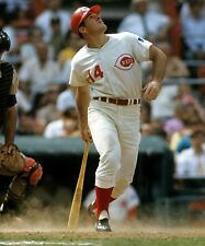 PETE ROSE CINCINNATI REDS MLB BASEBALL 8X10 PHOTO LOOK!