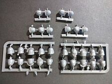Warhammer 40k Space Marines Space Wolves Pack x30 Shoulder Pad Bits