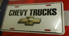 Chevy Trucks Promotional Licence Plate - USA Chevrolet Number Plate - Americana