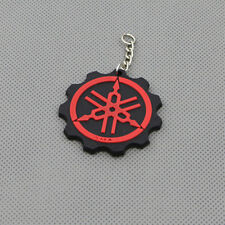 Cool Motorcycle Rubber Keyring Keychain Key Chain Key Ring For YAMAHA Red Gift