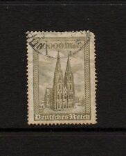 GERMANY 1923 10000M OLIVE Used