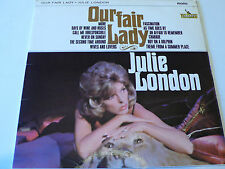 JULIE LONDON - OUR FAIR LADY, UK LIBERTY LP 1965 1ST PRESS EX-
