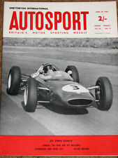 Autosport 20/4/62* LOMBANK TROPHY  - FERRARI the MAN & HIS MACHINES