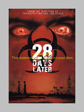 "28 DAYS LATER PP SIGNED POSTER 12""X8"" Cillian Murphy"