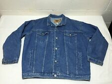 Vintage GAP Denim Jean Jacket Size Large Made In USA Trucker