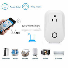 Power Socket Timer WiFi Switch Smart Home Control US Plug iOS Android iPhone APP
