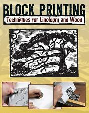 Block Printing : Techniques for Linoleum and Wood by Sandy Allison (2011,...
