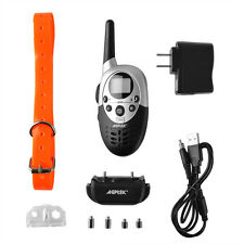 1000 Yard 8 Levels Waterproof Dog Shock Training Collar with Rechargeable Remote