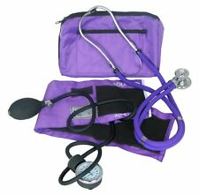 Dixie EMS Blood Pressure and Sprague Stethoscope Kit  PURPLE  (BRAND NEW)