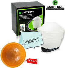 Gary Fong lightsphere (White)+ Orange Cover For Nikon SB-500 ,SB-910,SB-700