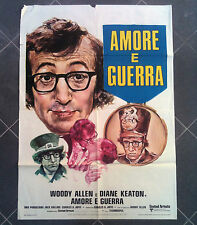 AMORE E GUERRA manifesto poster affiche Love and Death  Woody Allen Diane Keaton