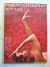 PHOTOGRAPHY ANNUAL 1963 = ANNUARIO 210 PAGINE = LINGUA ORIGINALE = OTTIMA !!!