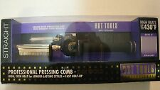 New Hot Tools Professional 1150 Pressing Comb / Multi-heat Control 280o - 430o