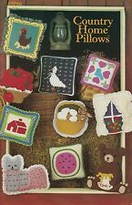 Country Home Pillows, Annie's Crochet Pattern Leaflet 87P46 30 Day Free Layaway!