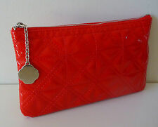 SHISEIDO Red Makeup Cosmetics Bag, Brand NEW!!