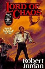 Wheel of Time: Lord of Chaos 6 by Robert Jordan (1994, Hardcover, Revised)