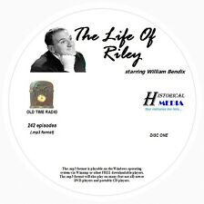 THE LIFE OF RILEY - 242 Shows Old Time Radio In MP3 Format OTR On 3 CDs