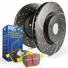 EBC Front USR Brake Discs & Yellowstuff Pads Kit BMW E90/1/2/3 335i/335D