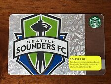 2013 Starbucks SEATTLE SOUNDERS FC Soccer Gift Card Limited Edition - New Mint