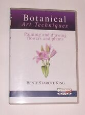 Botanical art Techniques Painting and Drawing Flowers and Plants DVD NEW