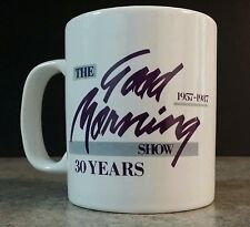 The Good Morning Show WFMY-TV 2 Greensboro, NC 30 Years Lee Kinard Cup Mug