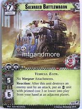 Warhammer 40000 Conquest LCG - Salvaged Battlewagon  #101 - Wrath of the Crusade