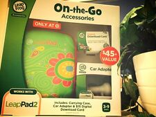 Leapfrog Leappad Accessories On-the-go Bundle (Flower Case)