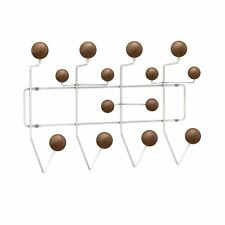 NEW Eames inspired wall coat rack hanger hang it all Walnut Modern