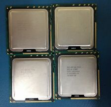 JOB LOT x4 INTEL XEON E5520 QUAD CORE PROCESSOR 2.26GHZ/8M/5.86 SLBFD LGA 1366