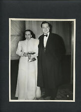 ORSON WELLES + DOLORES DEL RIO OUT ON THE TOWN - 1941 CANDID