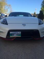 Nissan NISMO 370z NO HOLES License Plate Bracket (only Nismo edition)