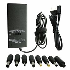 Universal 90W Laptop AC Charger Adapter for Acer Dell HP Toshiba + Power Cord