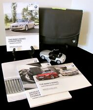 2013 BMW 6 Series 640i 650i Convertible with Navigation Owners Manual Set #B37