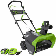 """Greenworks DigiPro (20"""") 40-Volt G-MAX Lithium-Ion Cordless Electric Snow Blower"""