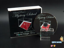David Penn's Mystery Solved (Gimmick and DVD) - Close Up Magic,Mentalism Trick