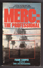 MERC: THE PROFESSIONAL by Frank Camper (1988) PB ~Soldiers-for-Hire~