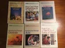 """Lot of 6 pamphlet (1991) """"Radio Bible Class"""" Discovery Series"""