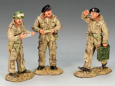 KING AND COUNTRY Dismounted British Tank Crewmen D Day WW2 DD136