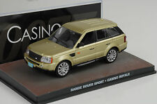 Movie James Bond Range Rover Sport / Casino Royale 1:43 Ixo