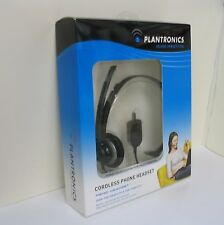 Plantronics M214C Headset for Cisco Linksys SPA Polycom 2.5mm headset jack phone