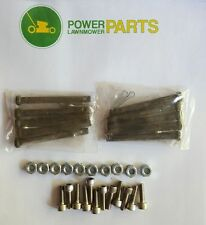 WALKER MOWER SHEAR PIN COMBO - INCLUDES 10 EACH OF PART # 8067-10, F202, F002