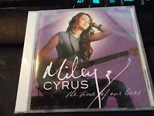TIME OF OUR LIVES by MILEY CYRUS, CD (2009 Hollywood Records) Factory Sealed CD