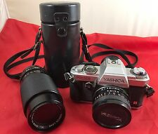 35mm Yashica FX-103 Camera With Lens - in a Nice Hard Case