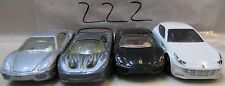 HOT WHEELS LOT OF 4 FERRARI F50 360 MODENA FF LOOSE